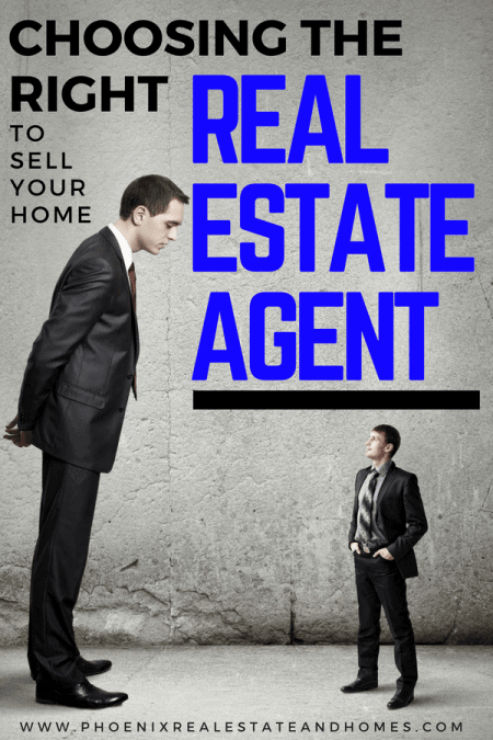 A big client choosing the right real estate agent