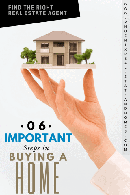 a big hand is carrying the house after buying a home