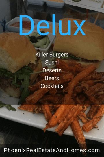 Delux Burgers Phoenix Arizona