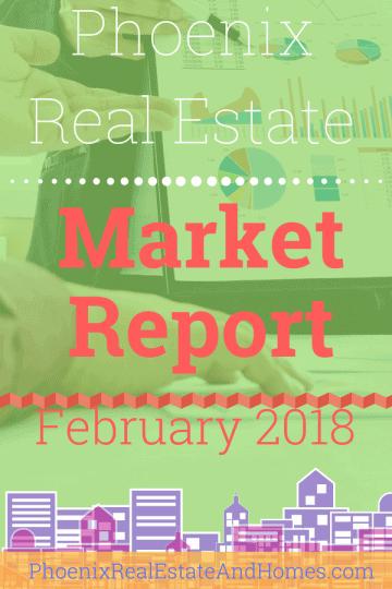 Phoenix Real Estate Market Report - February 2018