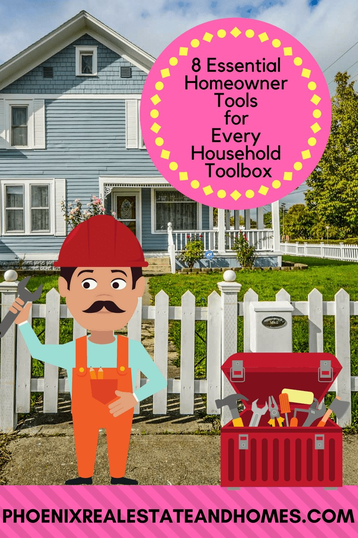 8 Essential Homeowner Tools for Every Household Toolbox