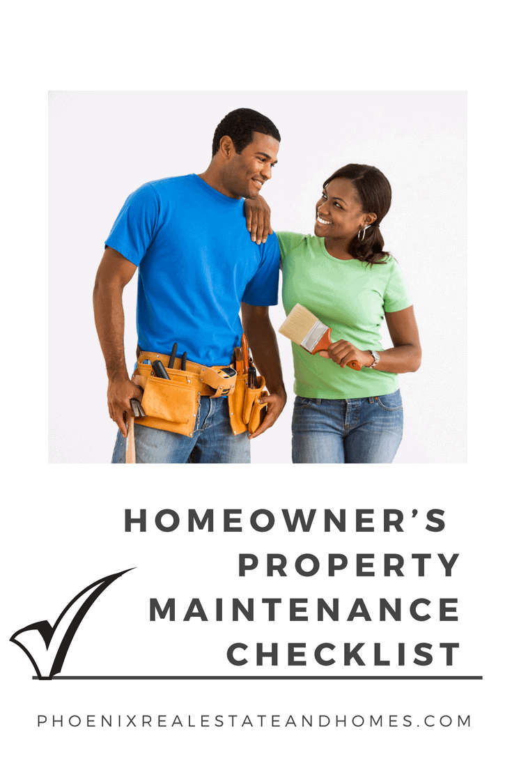 young couple with tools to maintain their home. Ready to work on their Homeowner's Annual Property Maintenance Checklist