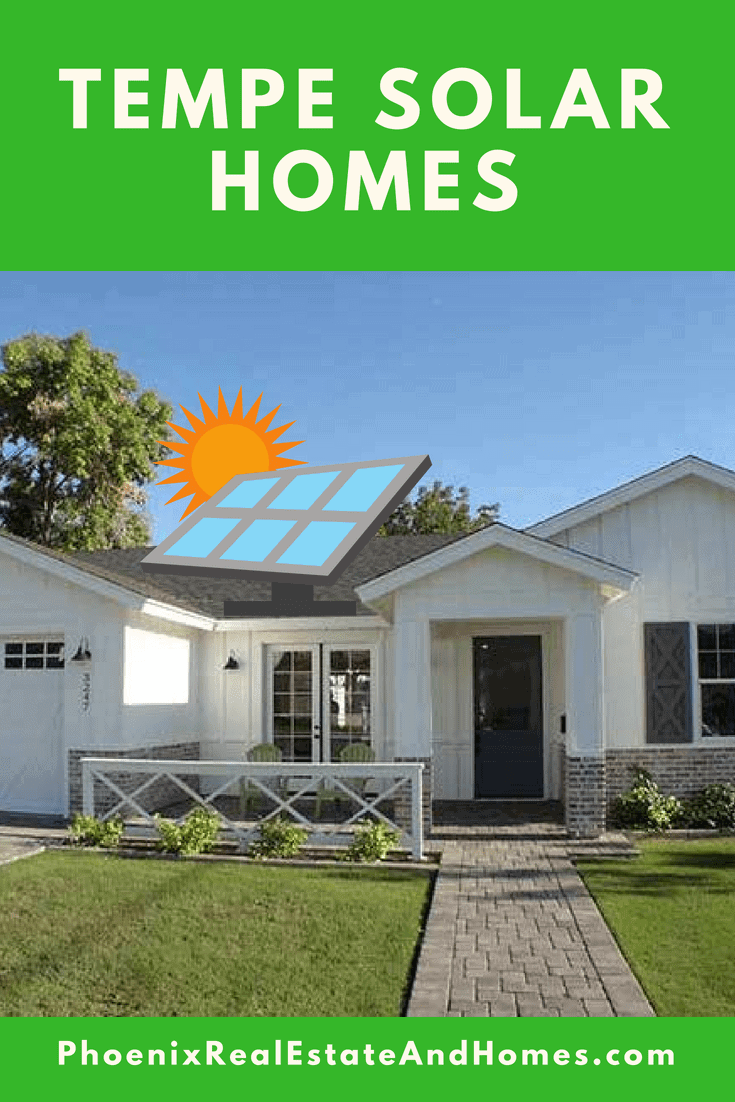 A single level Tempe Solar Home