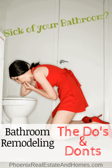Bathroom Remodeling - The do's and don't's