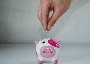 Pink Piggybank for Millenial homebuyers