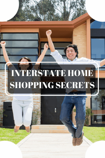 Young couple bought their new home by Interstate Home Shopping Secrets