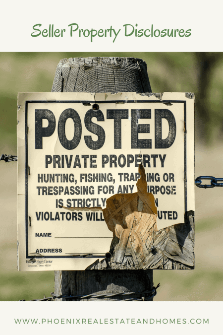 Posted Old Private Property Sign For Sale by Owner