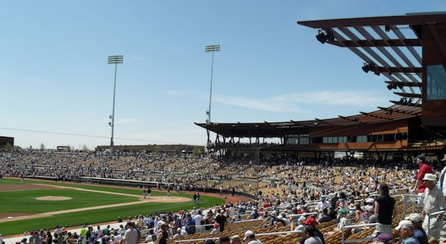 Cactus League Stadiums: Camelback Ranch Stadium