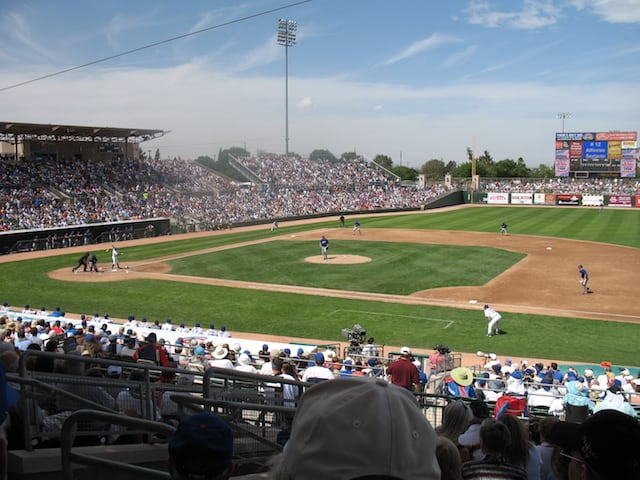 Cactus League Stadiums: Hohokam Stadium