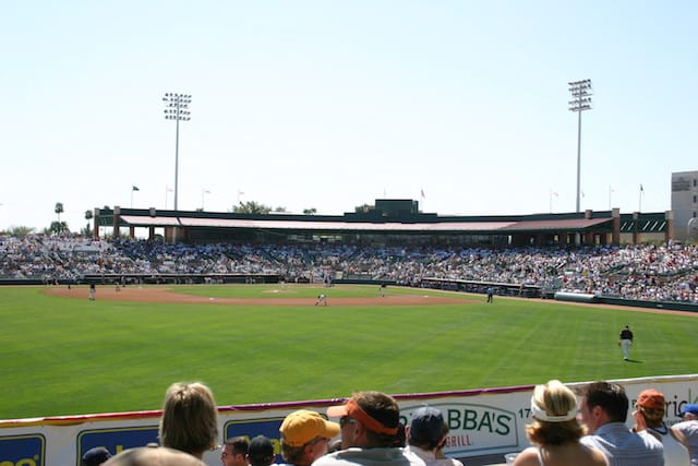 Cactus League Stadiums: Scottsdale Stadium