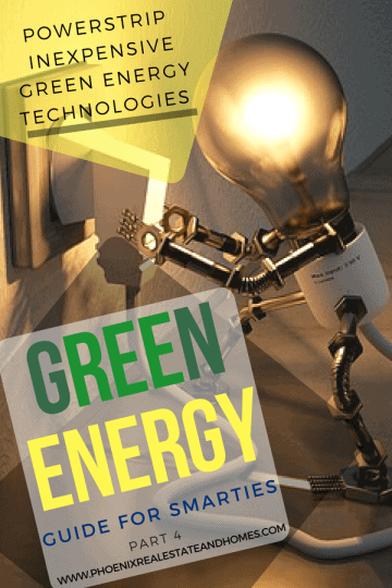 Light bulb switching the powerstrip as new Green Energy Technologies