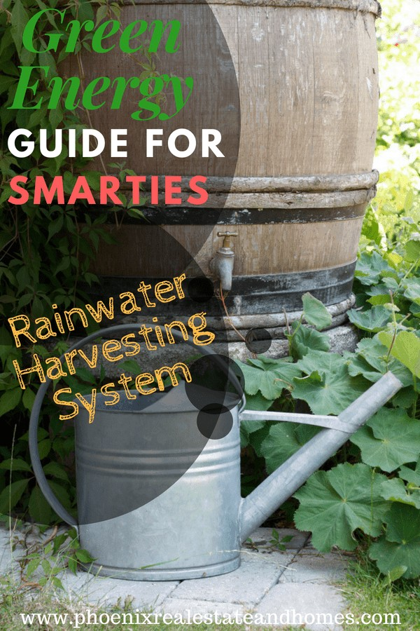 Green Energy Guide for Smarties - rainwater harvesting system