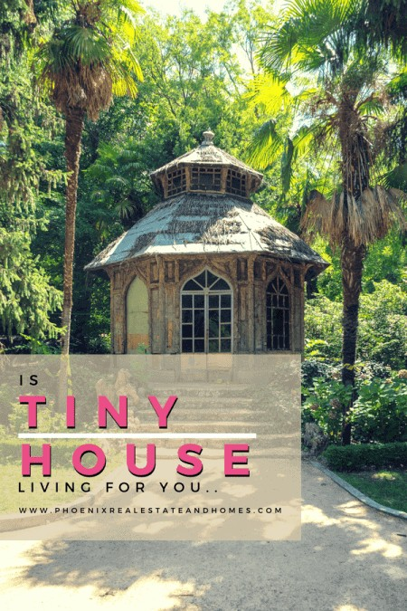 A Tiny House Living surrounded by many trees