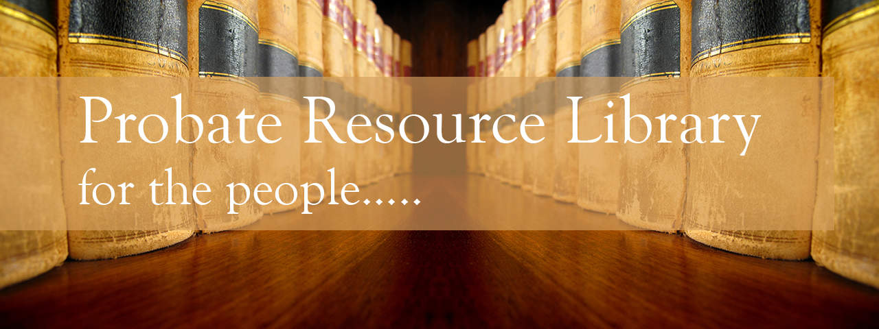 Probate Information Library