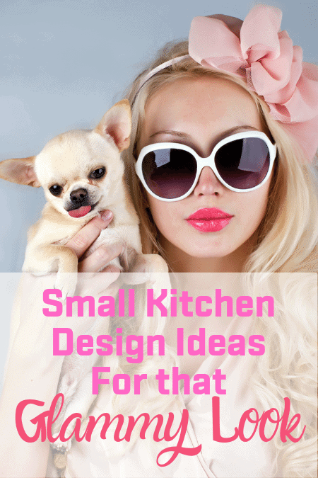 Small Kitchen Design Ideas For that Glammy Look
