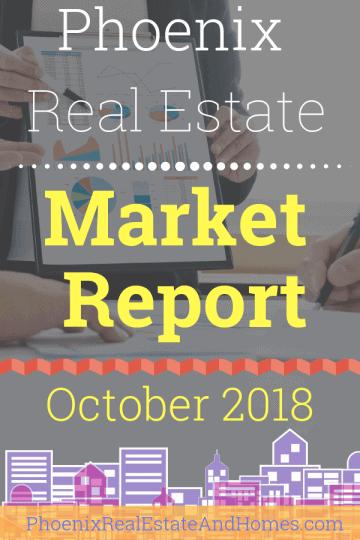 Phoenix Real Estate Market Report - October 2018