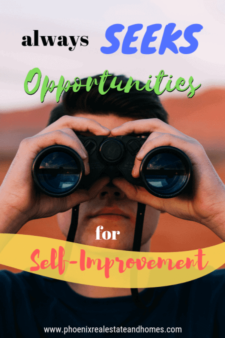 Young Male with binoculars seeking something is one of the 9 Attributes Your Real Estate Agent Must Have