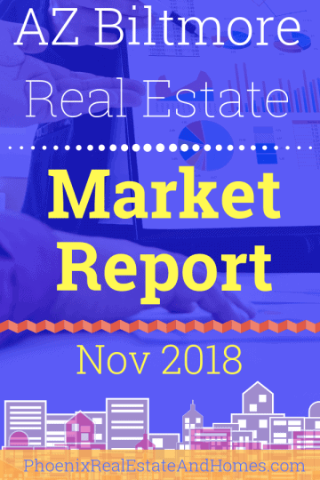 Arizona Biltmore Real Estate Market Report - November 2018