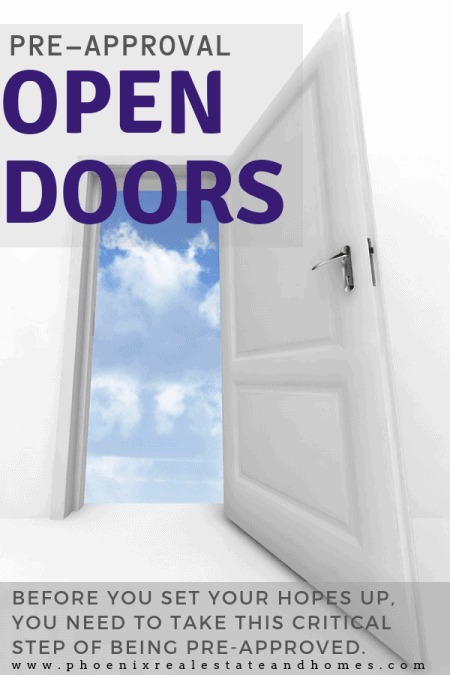 an open door after becoming better at home buying