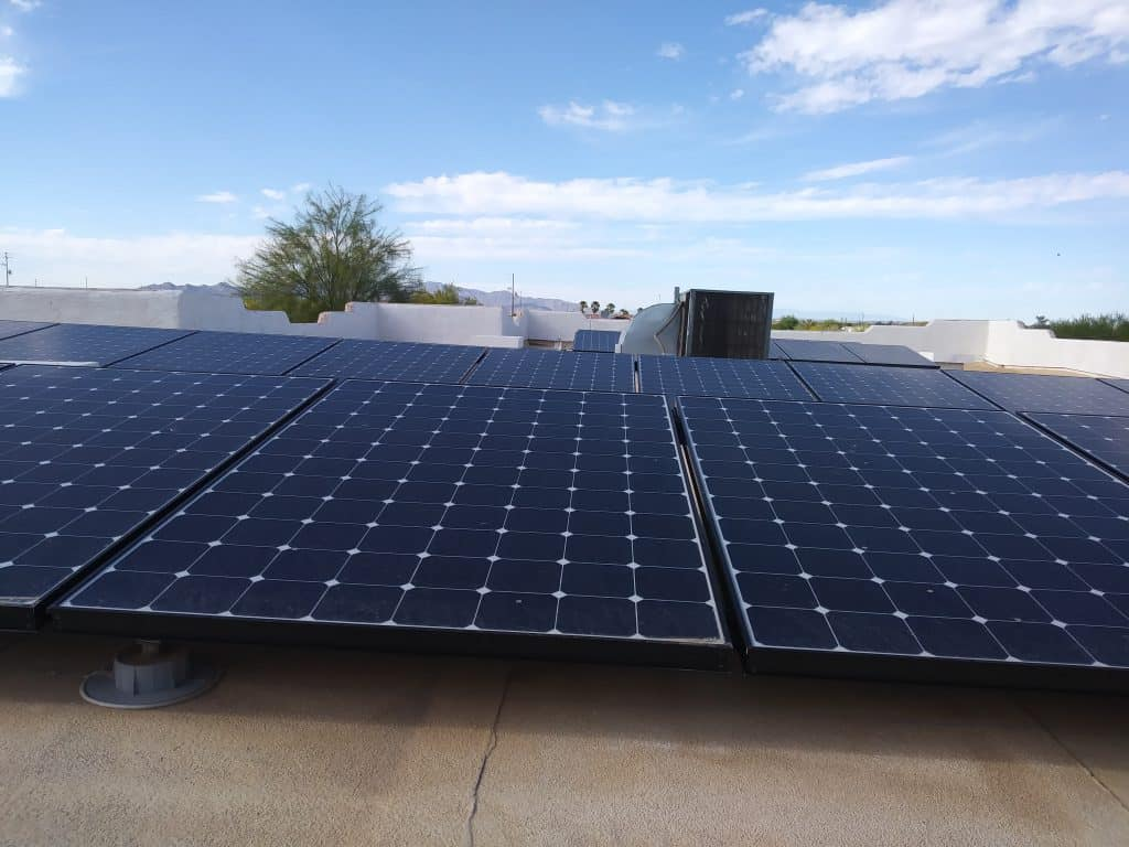 Solar Panels on Buckeye AZ Home