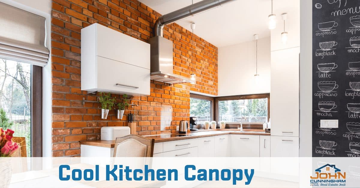 Small Kitchen Design Ideas For that Glammy Look - Cool Kitchen Canopy
