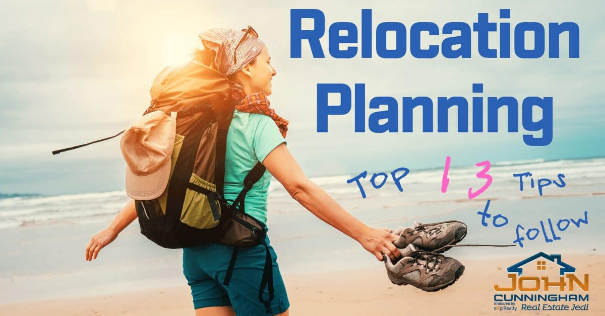 Relocation Planning - top 13 tips to follow